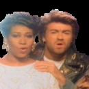 George Michael Aretha Franklin I knew you were waiting