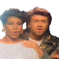 George Michael Aretha Franklin I knew you were waiting