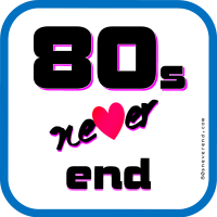 80sneverend blog 80s music video