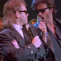 Elton John George Michael Wrap her up